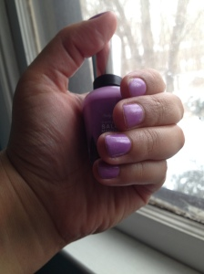 Purple Nails